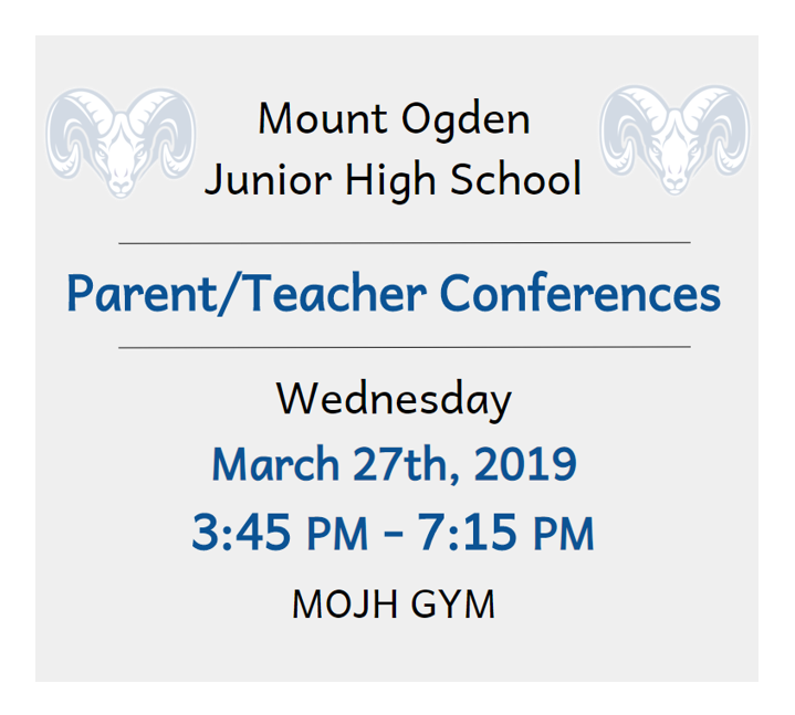 MOJH Parent/Teacher Conferences